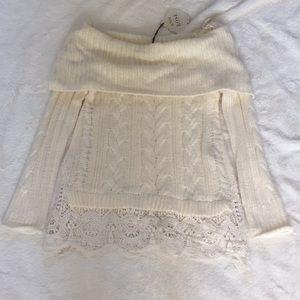 Brand new Knox Rose white sweater